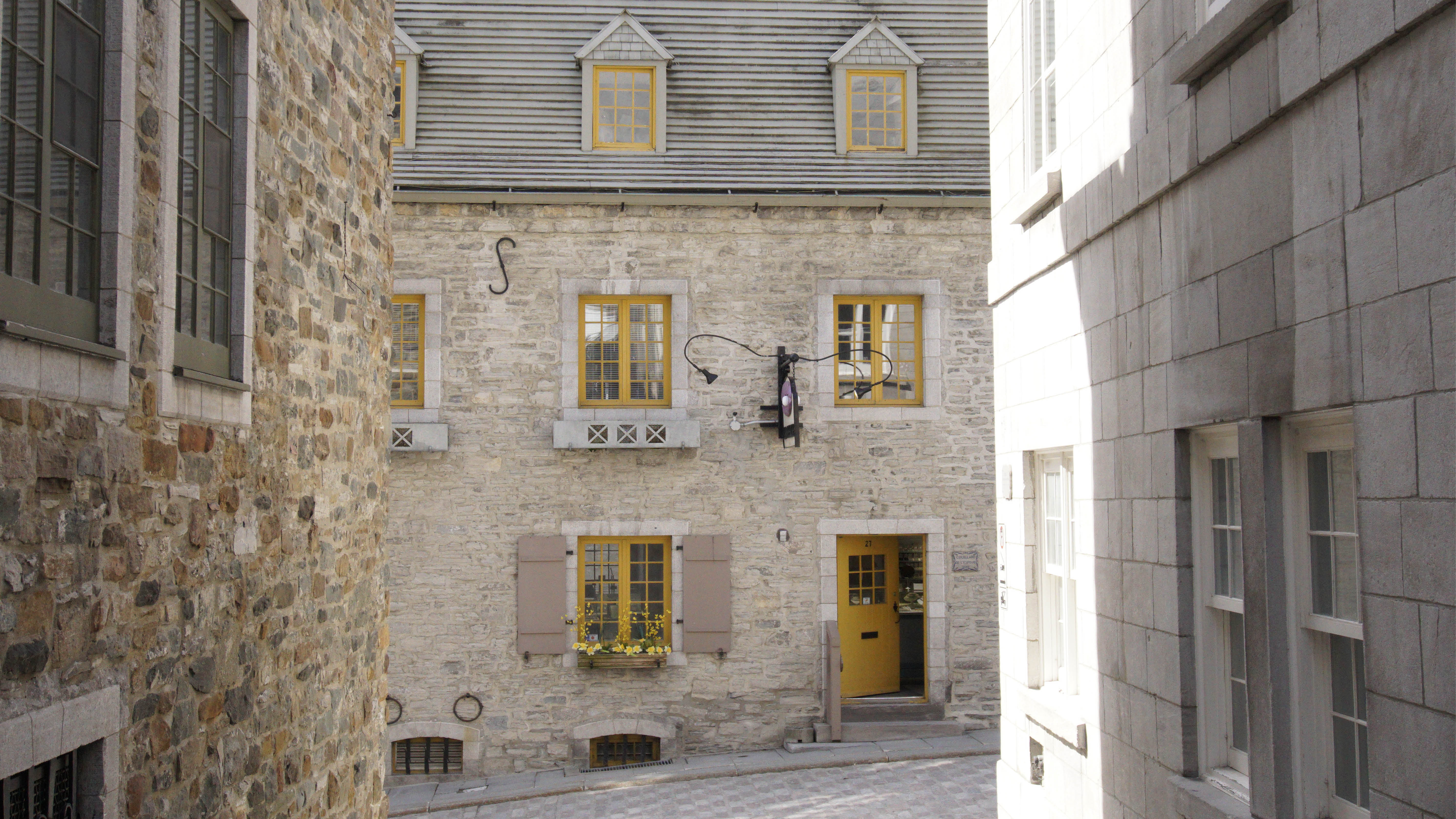 Place Royale in Old Quebec City